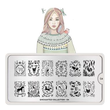 Šablon za pečate MOYOU Enchanted 04