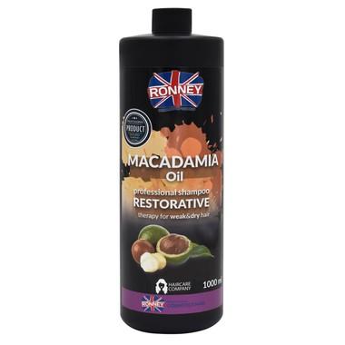 Šampon za obnavljanje slabe i suve kose RONNEY Macadamia Oil 1000ml