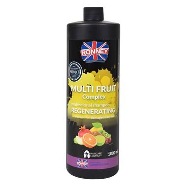 Šampon za regeneraciju suve i oštećene kose RONNEY Multi Fruit Complex 1000ml