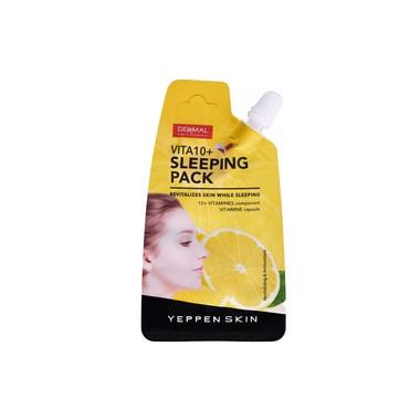 Noćna maska za revitalizaciju kože lica DERMAL Vita10+ Sleeping Pack 20g