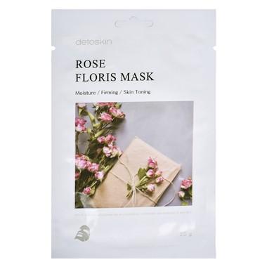 Korejska sheet maska za zatezanje kože Ruža DETOSKIN Floris 25g