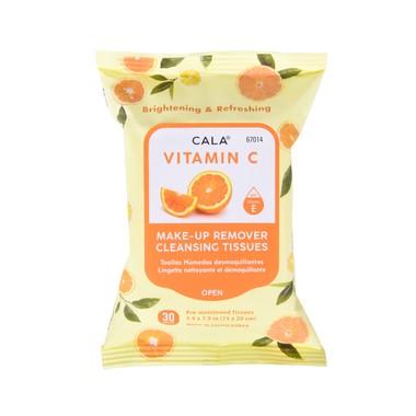 Vlažne maramice za uklanjanje šminke sa vitaminom C CALA 67014 30/1