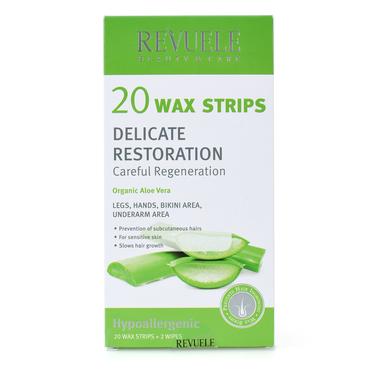 Trake za depilaciju sa voskom za osetljivu kožu REVUELE 20/1