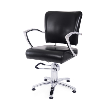 Frizerska radna stolica sa hidraulikom NS 6006A Crna