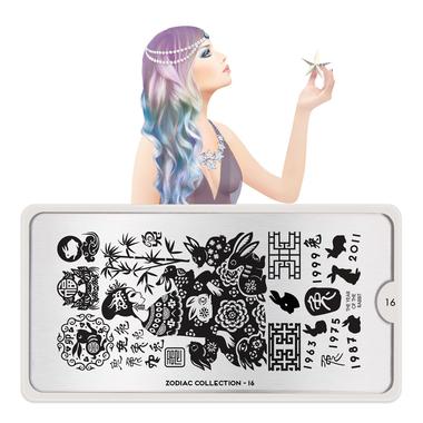 Šablon za pečate MOYOU Zodiac 16
