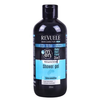 Shower Gel 3 in1 REVUELE Men 300ml