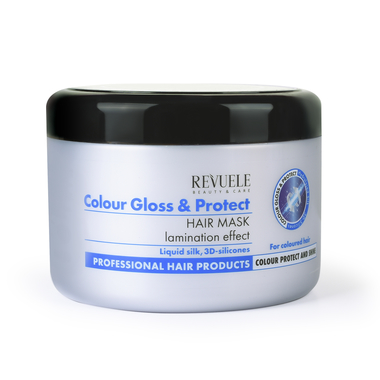 Maska za laminiranje kose REVUELE Color Gloss&Protect 500ml
