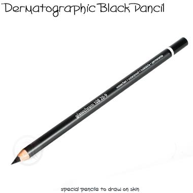 Olova za iscrtavanje kontura trajne šminke Crna TP200
