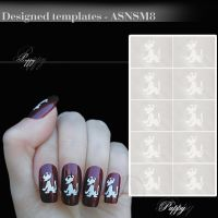 Šablon za nokte Smart Nails SM-8