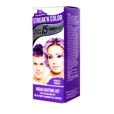 Intense Highlighting Kit 'N RAGE Purple Punch 14g+29ml