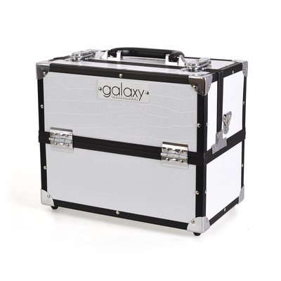Makeup, Cosmetics and Tool Case GALAXY TC-3201WC White