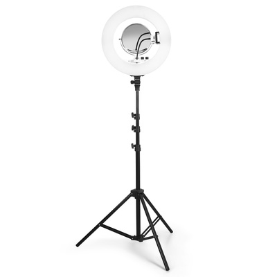 LED Ring Light Photography Lighting with Adjustable Tripod