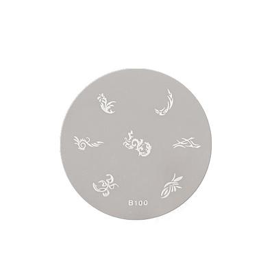 Disc Round Stencil ASN B100