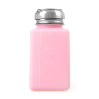 Plastic Pump Liquid Pink 200ml
