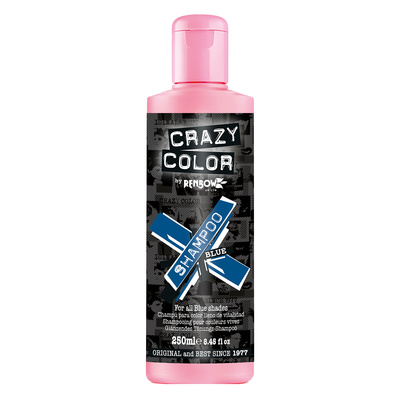 Šampon za farbanu kosu bez sulfata CRAZY COLOR Plavi 250ml