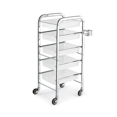 Trolley for hair salons DP 5102 White