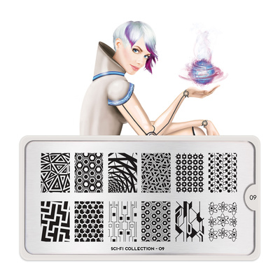 Stamping Nail Art Image Plate MOYOU Sci-Fi 09