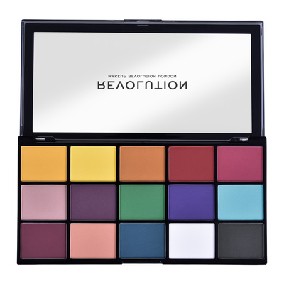 Paleta senki za oči REVOLUTION MAKEUP Reloaded Marvellous Mattes 16.5g