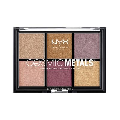 Paleta senki za oči NYX Professional Makeup Cosmic Metals CMSP01 6x1.37g