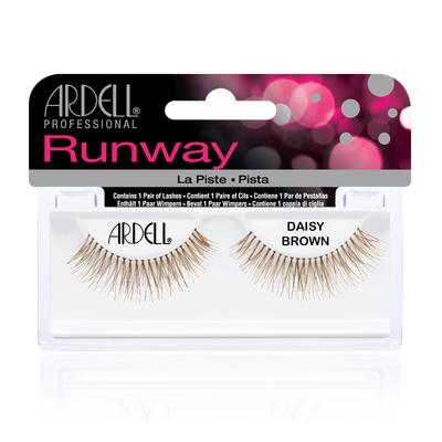 Strip Eyelashes ARDELL Runway Daisy Brown