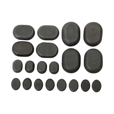 Set vulkanskog kamenja za masažu Mini 20/1