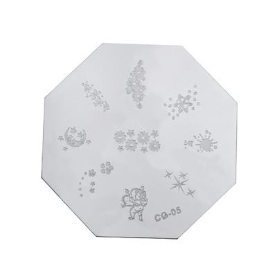 Stamping Nail Art Image Plate Octagonal PMCG0 05