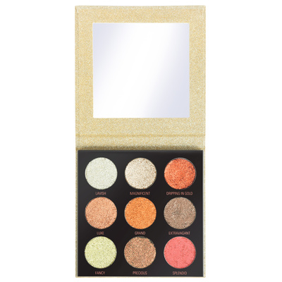 Eyeshadow Palette REVOLUTION MAKEUP Midas Touch 10.8g