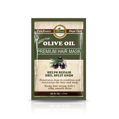 Hair Mask for Dry Hair and Split Ends with Olive Oil DIFEEL 50g