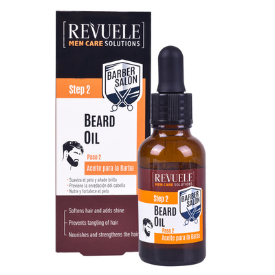 Beard and Moustache Oil REVUELE Barber Salon 30ml