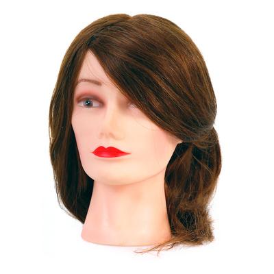 Trening lutka sa prirodnom kosom COMAIR Smeđa 40cm