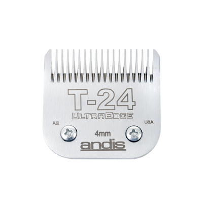 Spare Blade For Hair Clippers Andis Ultra Edge Size T24 - 4mm