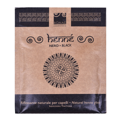 Henna For Hair BONAE LABORATORIO Black 40g