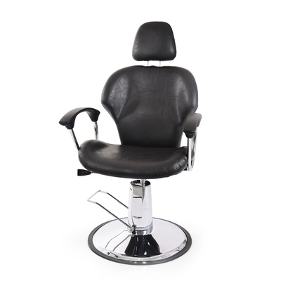 Hair Styling Barber Chair with Hydraulic NV 88102-2 with Adjustable Backrest and Headrest