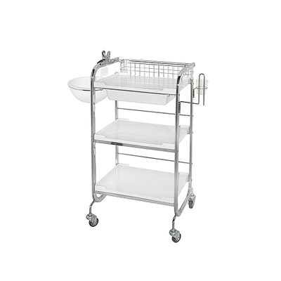 Cosmetic trolley M 3007 A multifunctional with three shelves and one drawer