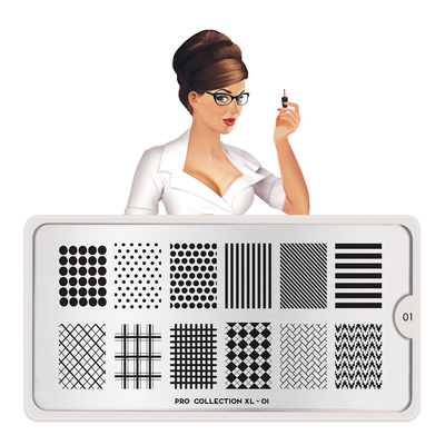Stamping Nail Art Image Plate MOYOU Pro XL 01