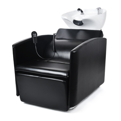 Ceramic Shampoo Chair NS-5565 with Electro-Adjustable Height and Footrest