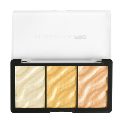 Paleta hajlajtera REVOLUTION PRO Supreme Highlight Gold
