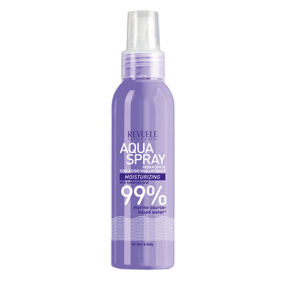 Aqua Spray for Face and Body with Hyaluronic Acid REVUELE Moisturizing 200ml