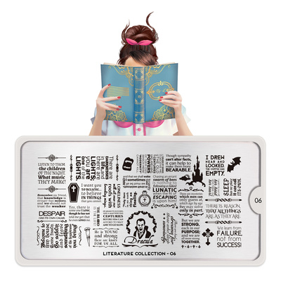 Šablon za pečate MOYOU Literature 06