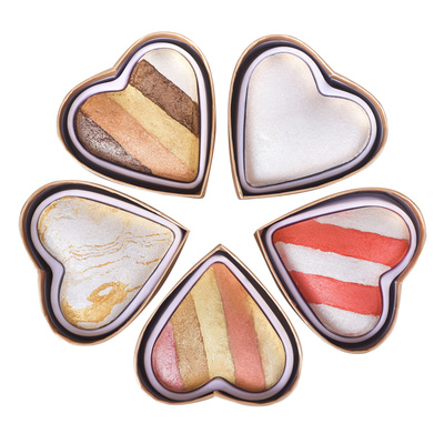 Gift Box Highlighters I HEART REVOLUTION Heart Heaven 5x10g