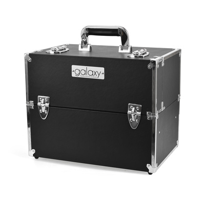 Makeup, Cosmetics and Tool Case GALAXY TC-1441BS Black