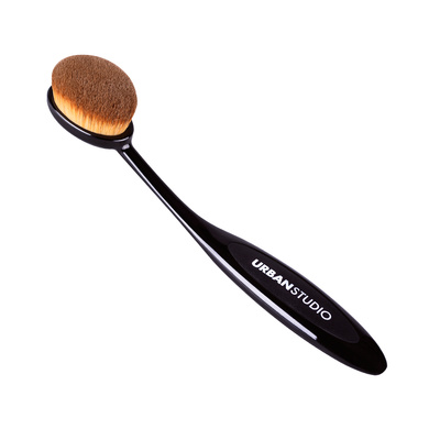 Contouring Blending Brush Oval Urban Studio 76241-2 Synthetic Hair