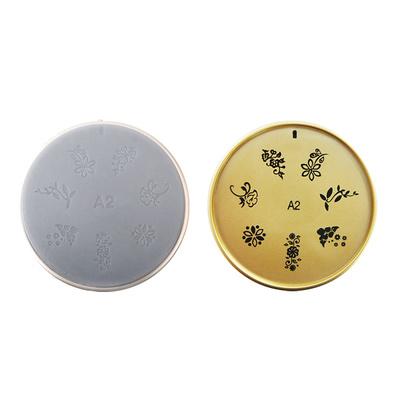 Šablon silikonski za Nail Art A2