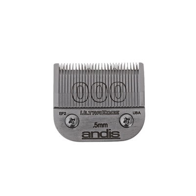 Spare Blade For Hair Clippers Andis Ultra Edge Size 000 - 0.5 mm