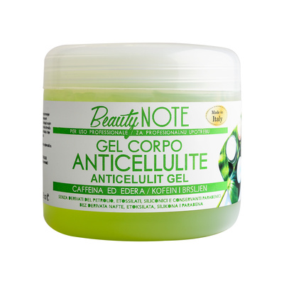 Anti-Cellulite Body Gel with Caffeine and Ivy DIEFFETTI 500ml