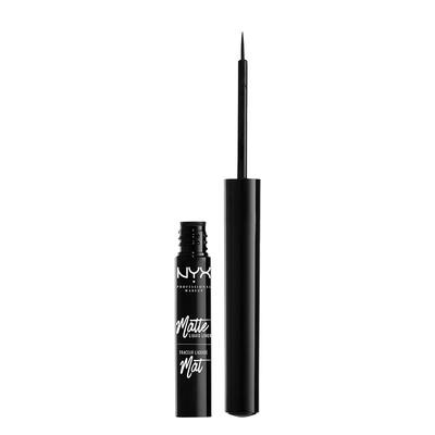 Tečni mat ajlajner NYX Professional Makeup Matte Liquid Liner MLL01 2ml