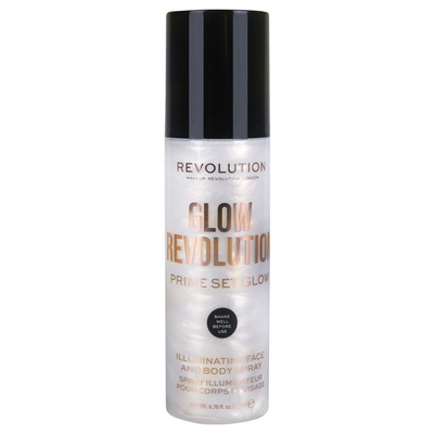 Sprej za iluminaciju lica i tela REVOLUTION MAKEUP Eternal Gold Glow 200ml