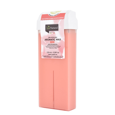 Roller Cartridge Depilatory Wax SPA NATURAL Rose 100ml