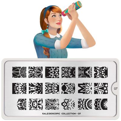 Stamping Nail Art Image Plate MOYOU Kaleidoscope 07