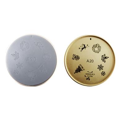 Šablon silikonski za Nail Art A20